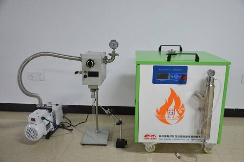 oxy-hydrogen flame quartz glass tube sealing machine